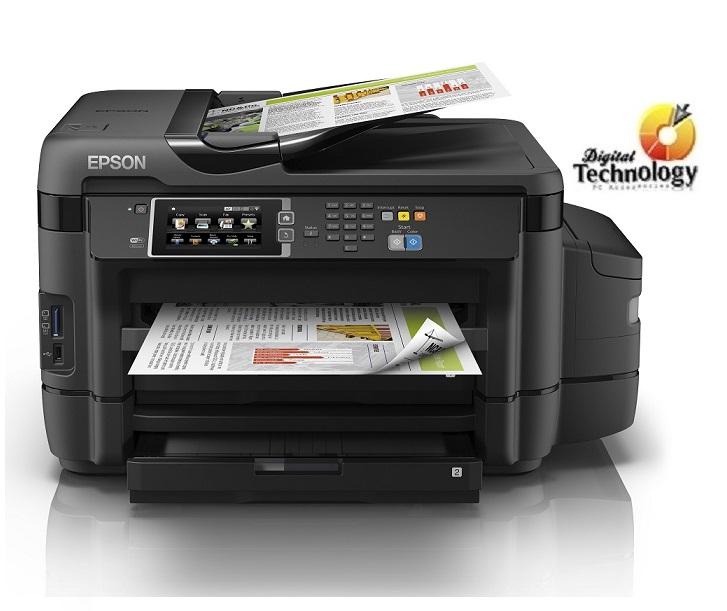 Impresora de Inyección a Color Epson EcoTank L1455, Sistema de Tanques de Tinta, USB.