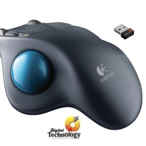 Mouse Láser Inalámbrico Logitech Trackball m570, USB, Color Negro