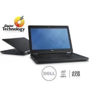 """Laptop DELL 14"""" Latitude E5450 Core I5 5300U 4GB 256GB W7 Pro / W10Pro Negro"""