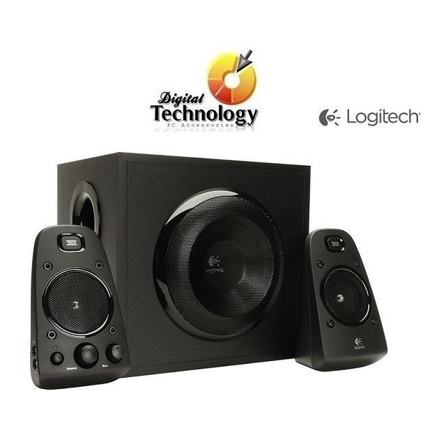 Bocinas Logitech Z623 estéreo 2.1, Certificación THX, 200 Watts (RMS)