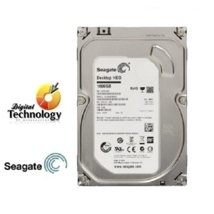 Disco Duro Seagate – 3.5 Pulgadas – 500GB – SATA 3 – 7200 RPM.