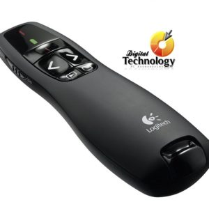 Presentador Logitech R400 Usb Inalambrico - Puntero Laser Wireless Plug and Play