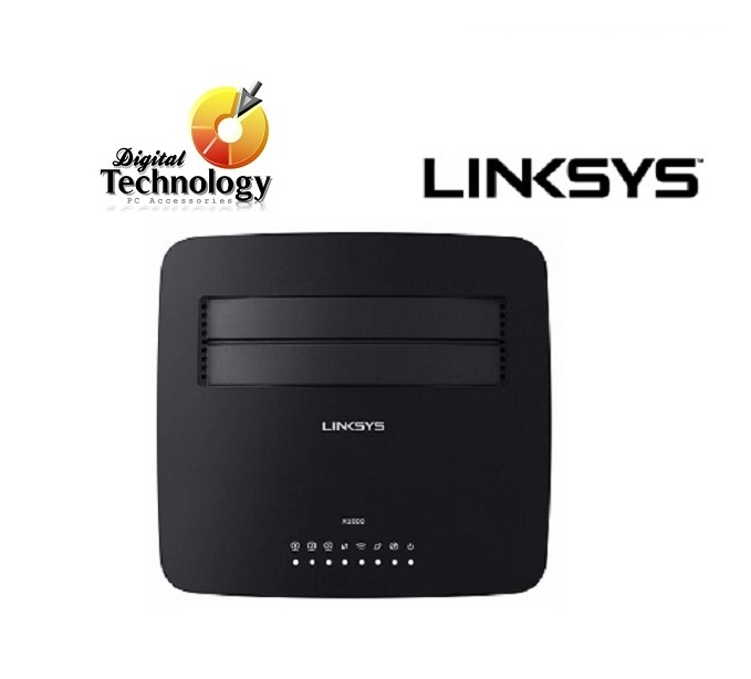 ROUTER LINKSYS ADSL2 + WI-FI N300 X1000-LA X1262 COLOR NEGRO