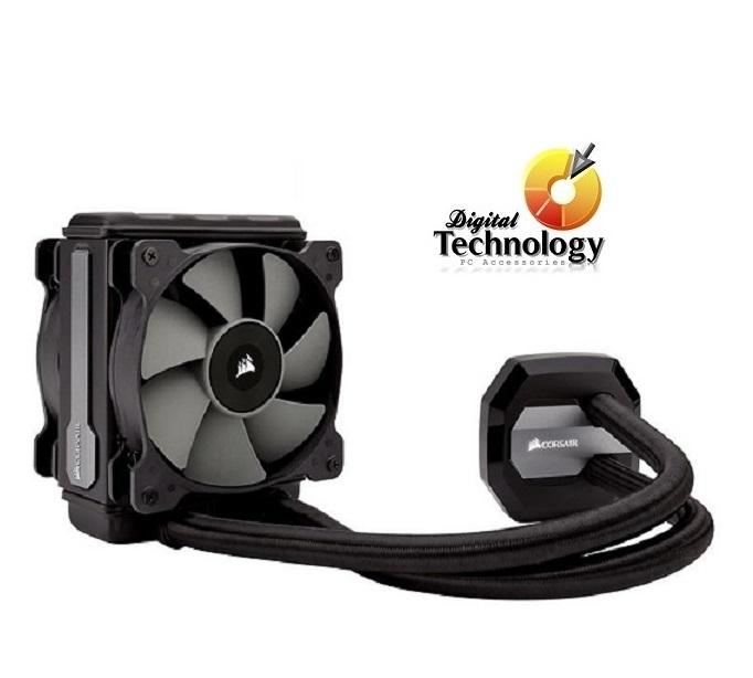Corsair Hydro Series H75 Enfriamiento Líquido para CPU, 120mm, 2000RPM