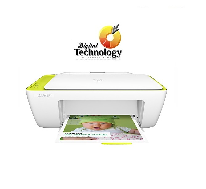 Impresora Todo-en-Uno HP Deskjet Ink Advantage 2135 Color Blanco