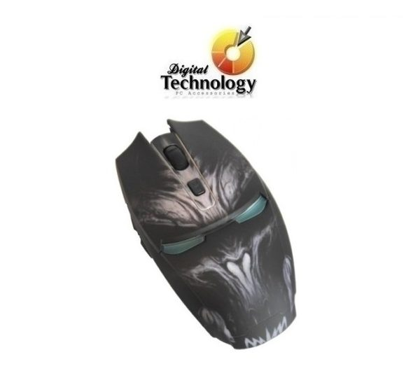 Mouse Gamer Eagle Warrior G14 hasta 2400 dpi, USB. Resolución (dpi) 2400 Dpi