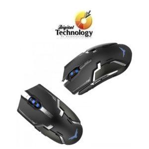 Mouse gamer Naceb NA-631, USB. Color Negro. InterfazReceptor USB
