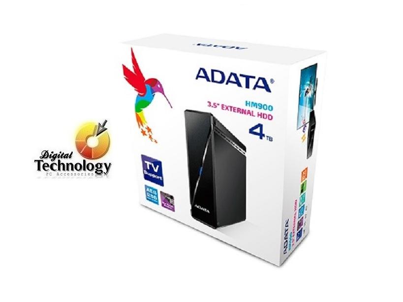 Disco Duro Externo ADATA HM900 de 4TB, USB 3.0. Disco Duro Mecánico