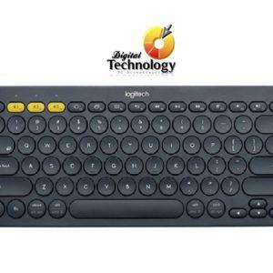 Teclado Logitech Mini Multidispositivo K380, Bluetooth, Negro