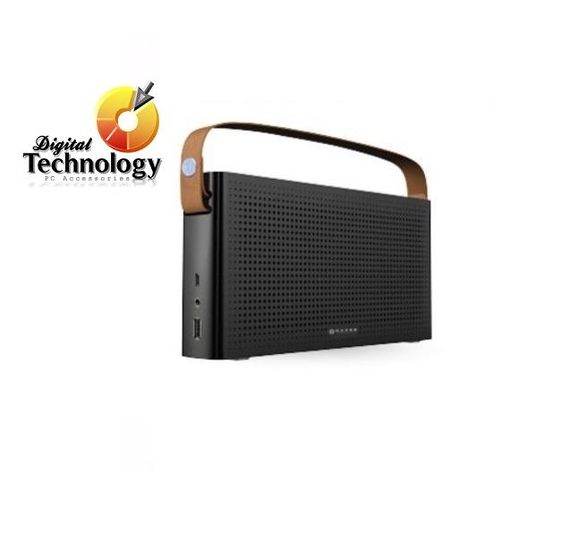 Bocina portátil NACEB NA-0301N, Bluetooth. Color Negro. Bateria recargable