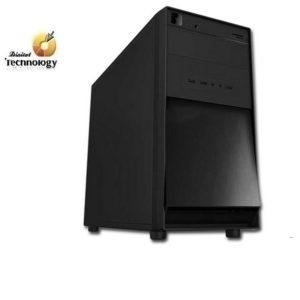 Gabinete KMEX CM-3F22, Micro ATX con fuente de 450W. Puertos del Panel Frontal 2