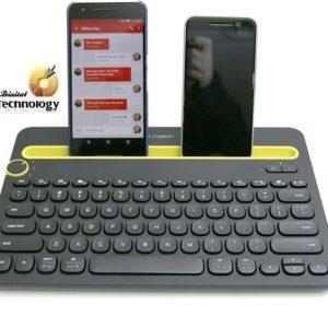 Teclado Logitech K480 Multiplataforma, Inalámbrico, Bluetooth, Negro