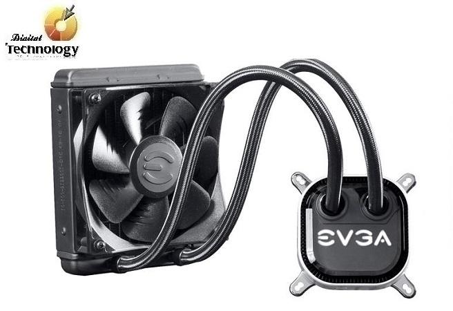 Sistema de enfriamiento líquido EVGA CLC 120 de 120mm. Velocidad 500-2400RPM