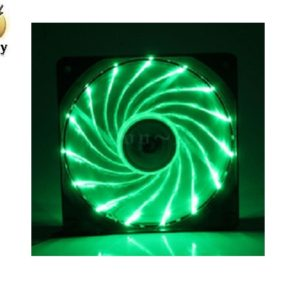 Ventilador Eagle Warrior con Leds Verdes, 120 mm.