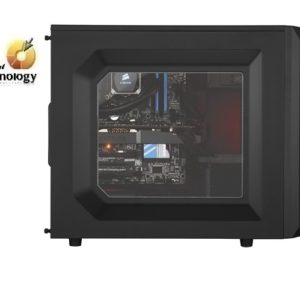 Gabinete Corsair Mid-tower Carbide Series SPEC-02 Blue LED, ATX, (sin fuente de poder)