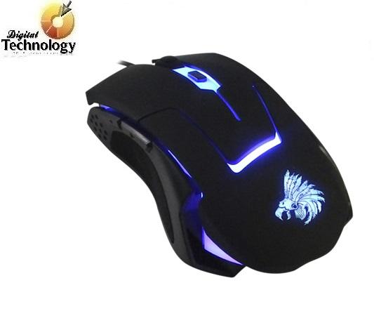 Mouse Gamer Eagle Warrior Óptico G13, Alámbrico, 2400DPI, USB, Negro