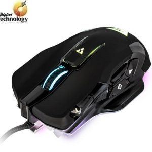 Mouse Gamer GAME FACTOR MOG600, Láser de hasta 8200 dpi con 10 botones