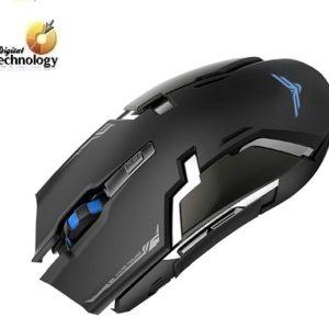 Mouse Óptico Naceb Technology NA-629, hasta 3200dpi, USB. Color Negro.