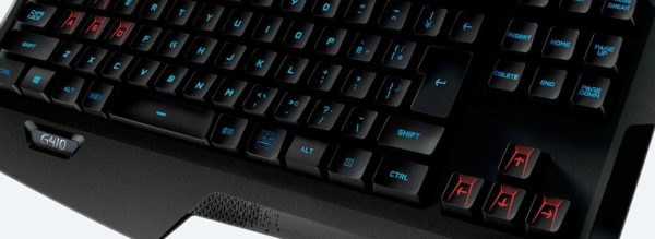 Teclado Mecánico Gamer Logitech G410 Atlas Spectrum Rgb Switches Romer G