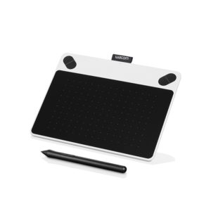 Tableta Digitalizadora Wacom Intuos Draw Creative Pen Tablet Small White Ctl490dw