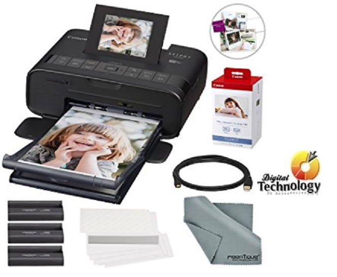 Impresora de inyección de tinta Canon Selphy CP1200 para fotografías, Wi-Fi, USB.