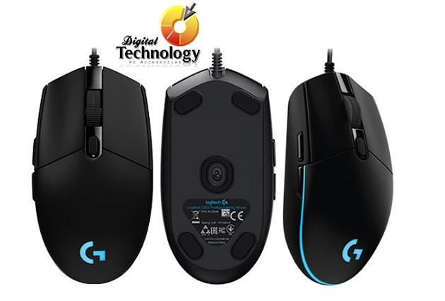 Mouse Gamer Logitech Prodigy G203, 6 botones e iluminación RGB programables, USB 2.0.