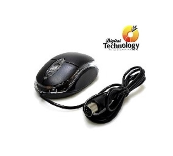 Mouse Óptico Kmex MO-N233 hasta 800dpi, USB. Color Negro Resolución (dpi) 800 dpi
