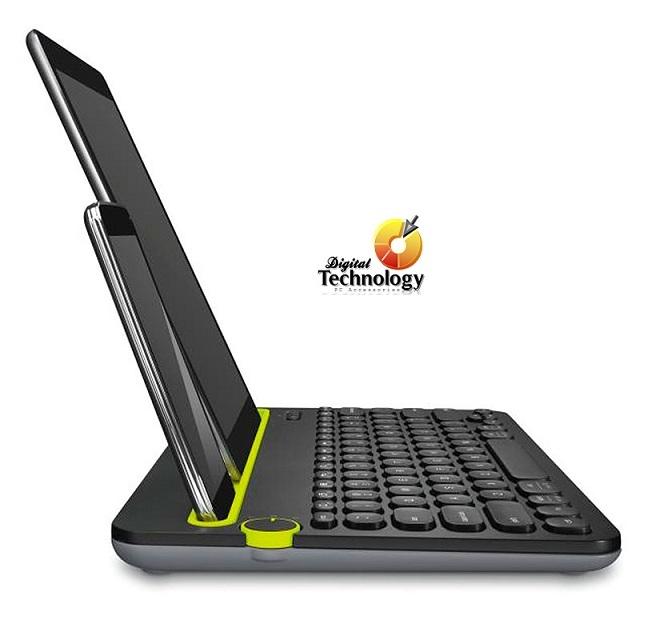 Teclado Bluetooth Logitech K480, Multidispositivo PC/TABLET Versión en español