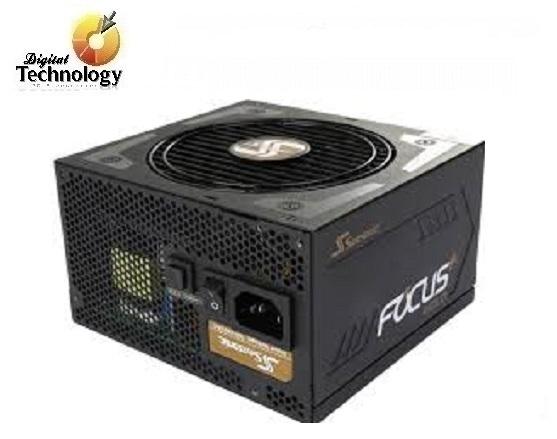 Fuente de Poder Seasonic SSR-850FX FOCUS de 850W, ATX, 80 Plus Gold.