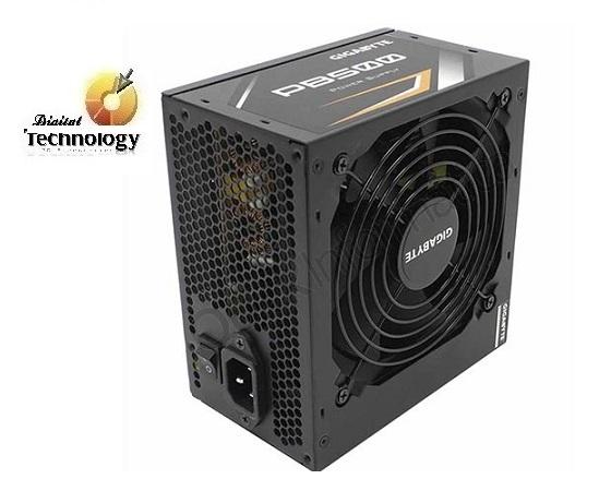 Fuente de Poder Gigabyte PB500 de 500W, ATX, 80 Plus Bronze. Dimensiones 150 x 140 x 86 mm