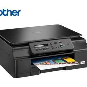 Multifuncional Brother Inkjet DCPJ100, 27 PPM,Copiadora y Escáner
