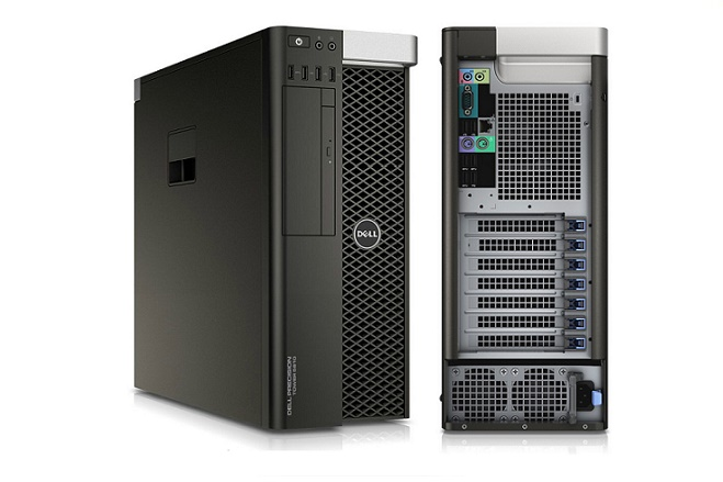 Workstation Precision T5810: Xeon E5-1620,16 GB, 500 GB HDD TARJETA DE VIDEO FIREPRO GRAPHICS V4900