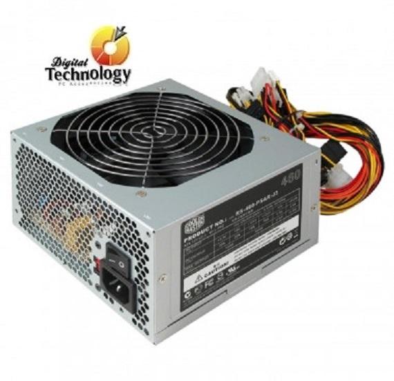Fuente de Poder Cooler Master Elite Power 460, ATX, 120mm, 460W