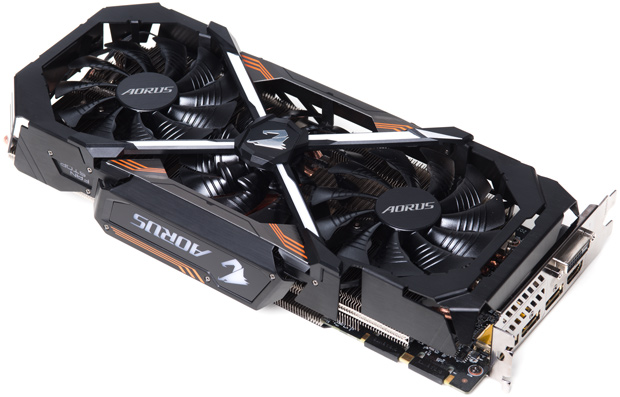 Tarjeta de Video Gigabyte Geforce GTX 1080 AORUS 8G Video Ddr5 256B