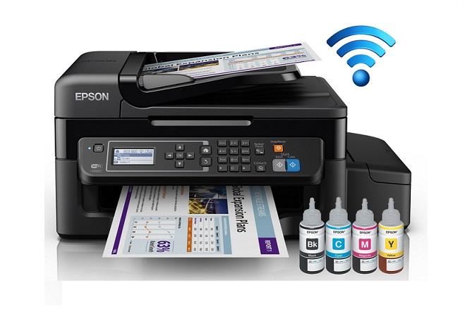 Multifuncional de Inyección Epson EcoTank L575 Impresora Copiadora Escáner Tinta Continu