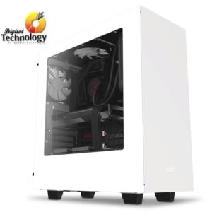 Gabinete NZXT S340 Elite con Ventana, Midi-Tower, ATX/Micro-ATX/Mini-ITX, USB 2.0/3.0
