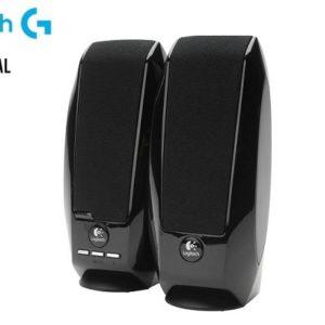 Bocinas Logitech S150 Sonido Estéreo 2.0, RMS total de 1.2 Watts. USB Negro