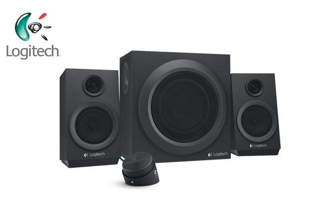 Bocinas Logitech Z333 2.1 40 Watts RMS PC/MAC/MP3/IPOD/DVD