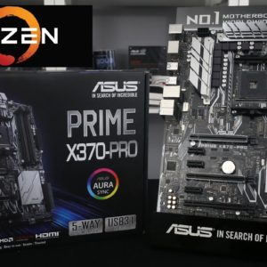 T. Madre ASUS PRIME X370-A, ChipSet AMD X370 Soporta AMD Ryzen Athlon 7ma Gen