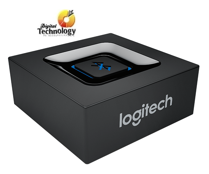 Logitech Bluebox - Adaptador de Audio Bluetooth (función puente inalambrico) Color Negro